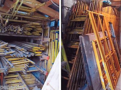 BILJAX INTERIOR SCAFFOLDING Lot Various Size Ladders Putlogs