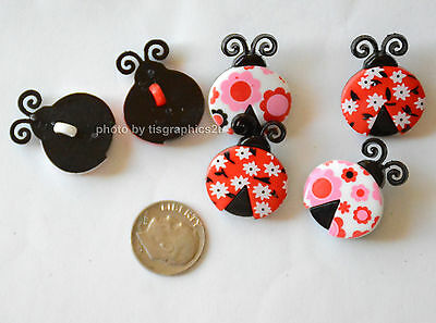 Jesse James Buttons ~ Dress It Up ~ CUTE AS A BUG 5816  Ladybugs ~ Sew~ Crafts