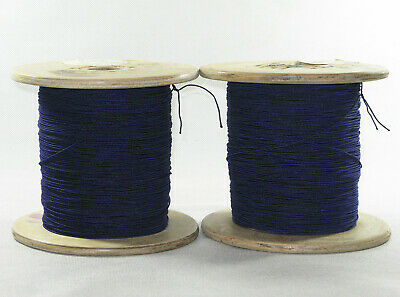 Lot of 30meters USSR  Blue Litz wire LESHO  HF copper 80x0.071mm