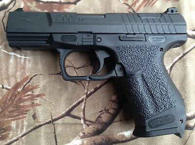TRACTIONGRIPS BRAND GRIPS for Walther P99 AS / black rubber