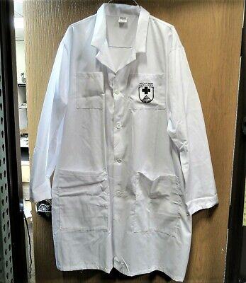 6 Pocket Unisex Consultant, Lab Coat Knee Length Walter Reed Bethesda Logo Small 2