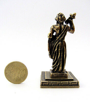 Statue Zeus King Of Gods Greek Olympian God Zamac Ancient Miniature Sculpture 3