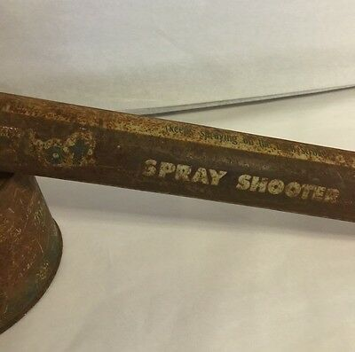 "Vintage Sheriff Hot Shot Spray Shooter, Great Collectible Display Item, 18"" 8"