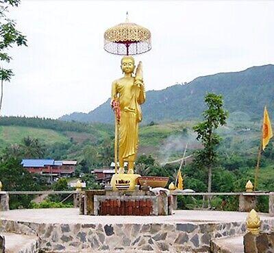 Thra Krud Pendant Talisman Phra Sivali Thai Buddha Amulets Holy Powerful Lucky