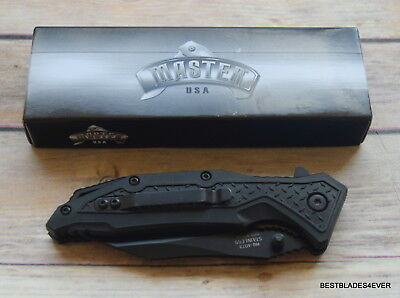 Master Usa Tactical Spring Assisted Knife With Pocket Clip 5