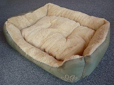 """Katzenbett oder Hundebett 55 x 45cm mit abnehmbarem Kissen """"WASCHBAR""""     570027"""