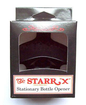 The Black Jack Set USA STARR X Bier Wand-Flaschenöffner Metall 70er Cap Catcher