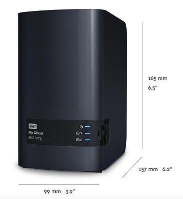 WD MY CLOUD Ex2 Ultra NAS RAID Gigabit Ethernet USB 3 0 - WBVBZ0000JCH