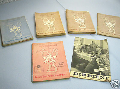 Konvolut Sammlung 38x Bienen-Blatt Heidermann 1956,1959,1961,1962,1963,1964,1965 2
