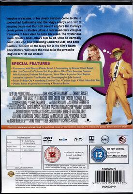 The Mask - Dvd Nuovo E Sigillato, Import Con Audio Italiano, Fuori Catalogo Raro