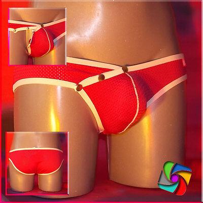 WJ-Design Air Pants Orange Size: XL - Das erotische Etwas  Gay/fetisch (44) 3