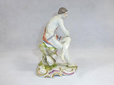 Seltene Porzellanfigur Figur Ludwigsburg 1758-1793  18Jh.