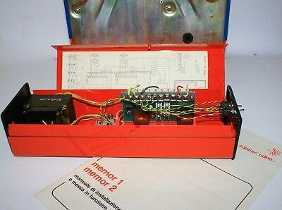 Vintage 1976 Fratelli Solari Udine Flap Clock Time Recorder New In Original Box 6