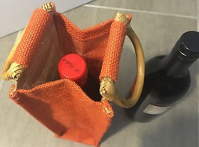 Echo Friendly Christmas Gift - Jute Bag Wine Bottle,champagne Bag with Handles 7