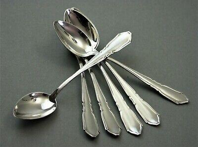 Robbe/&Berking,Art Deco,6 Löffel,Silber 150,neuwertig!!!