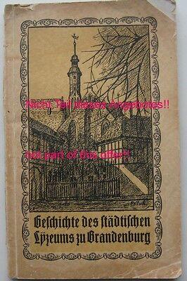 Brandenburg an der Havel Neubauer-Schule Fotoalbum Evangelisches Gymnasium Dom 9