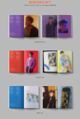 BAEKHYUN DELIGHT Album 3CD+POSTER+3 Photo Book+9 Card+3 F.Poster+3 Sticker+GIFT 8