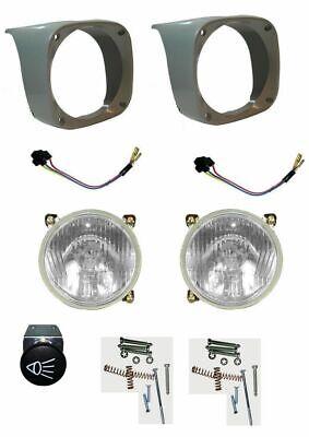 Headlight Lamps with COWL PAIR(LH & RH) Massey Ferguson Tractor 135 165 185 240 3