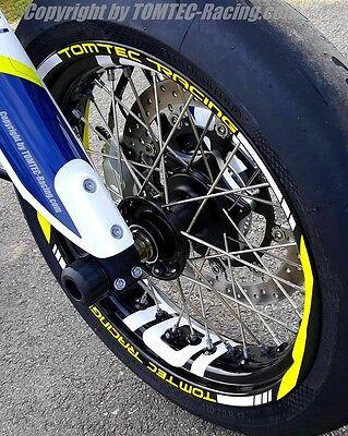 Rim Rings Motorcycle Rims Sticker Supermoto Husqvarna 701 FS Fe 450 501 610