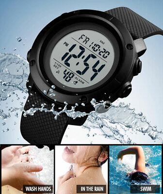 SKMEI Watch Mens/Womens Watches Waterproof Sport Outdoor LED Digital Wristwatch 10