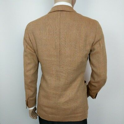 New Luxury Ermenegildo Zegna Mens Sport Coat Shooting Blazer UK 38R RRP £1685 4