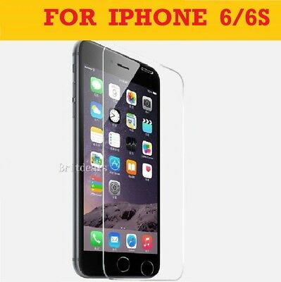 Screen Protector For Apple iPhone 6s & 6 - Tempered Glass 100% Genuine 2