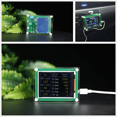 Household PM2.5 Detector Module Air Quality Dust Sensor TFT LCD Display Monitor 3