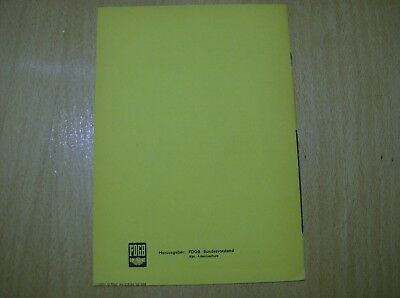 Äthyläther L25  Fachbroschüre / Fachbuch DDR 3