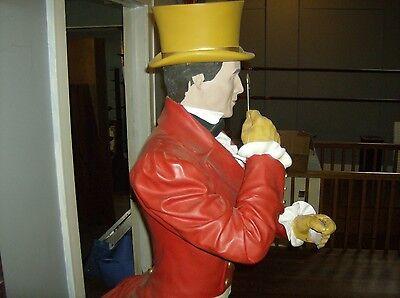 Johnnie Walker Life Size Resin Statue Vintage Store Display Advertising