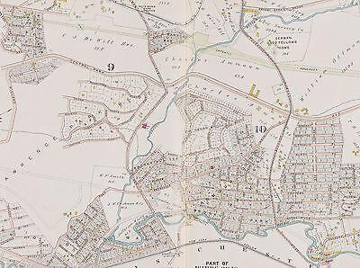 1911 WESTCHESTER Yonkers Ny Bronxville Tuckahoe Station Copy Atlas