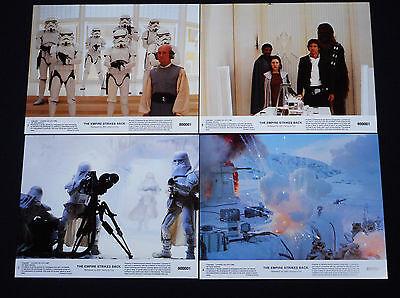 The Empire Strikes Back 1980 * Star Wars * Mini Lobby Card Set * C10 Mint Unused