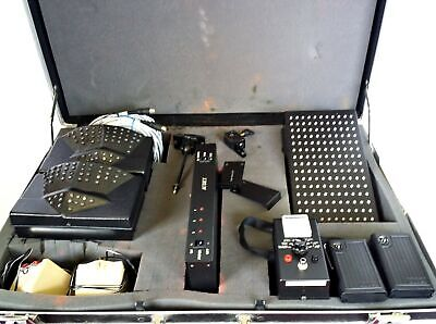 Audex Infra Red Assistive Listening Device Sample Kit Emitter Receiver in Case 2