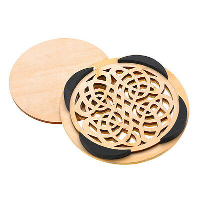 Soundhole Cover For Acoustic Guitar Feedback Buster Sound Buffer Hole Protector 5