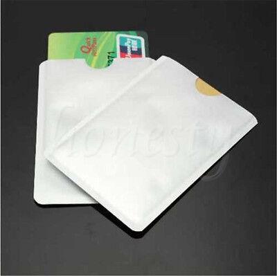 10/20/40pcs RFID Passport Credit Card Holder Protector Blocking Shield Bag 2