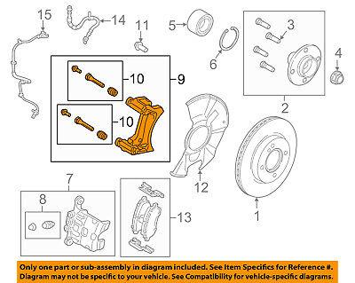 FORD OEM 14-18 Fiesta Brake-Rear Pads C1BZ2200A