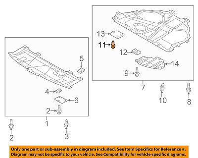MAZDA OEM 14-17 6-Fender Liner Shield Right GHP956114B