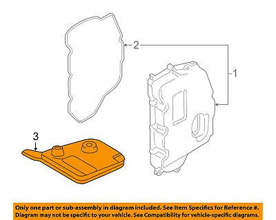 FORD OEM Automatic Transaxle-Filter F6DZ7A098AA