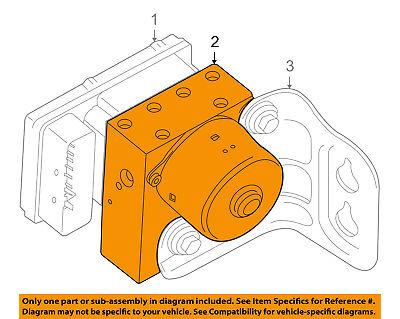 Genuine Chrysler 5114539AB Anti-Lock Brake System Module