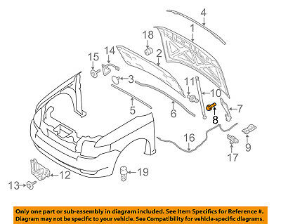 FORD OEM 11-18 Fiesta Hood-Hinge Right 8A6Z16796A
