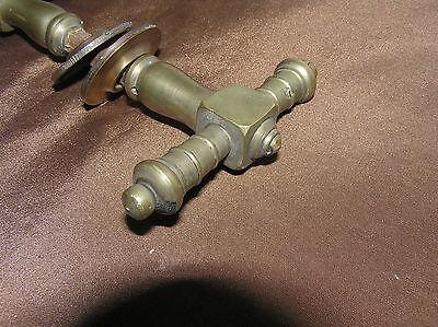 Antique Brass Door Handle. 2