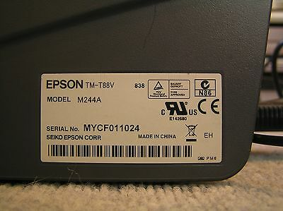Epson TM-T88V M244A Point Of Sale (POS) Thermal Receipt Printer