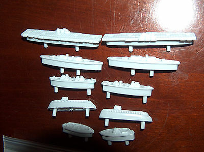 Battleship Game Ships Replacement Pieces Parts 84 Red 168 white  LONG  Pegs