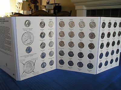 50 State Quarters Album with Territories Coin Collecting! Binder, Folder, Book! 7