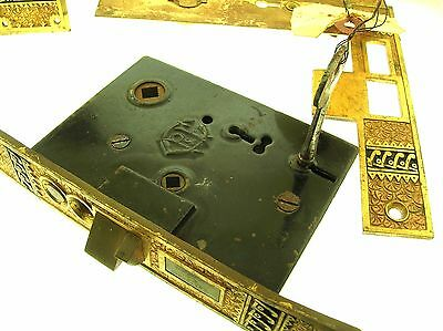 C.1883 Mansion Gilded Bronze Door Lock Set - Rare - Fantastic Quality - B. Offer 5