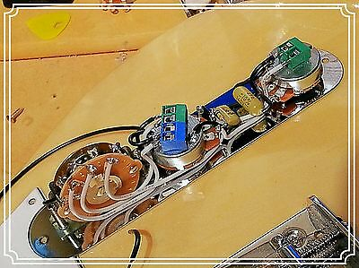 fully loaded fender telecaster tele 5 way control plate wiring harness upgrade Fender Telecaster Deluxe