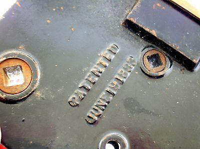 C.1883 Mansion Gilded Bronze Door Lock Set - Rare - Fantastic Quality - B. Offer 10