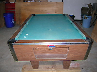 VINTAGE AMERICAN SHUFFLEBOARD Pool Table New Jersey USA - American pool table company