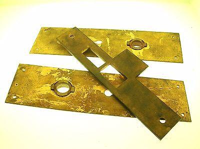 C.1883 Mansion Gilded Bronze Door Lock Set - Rare - Fantastic Quality - B. Offer 8