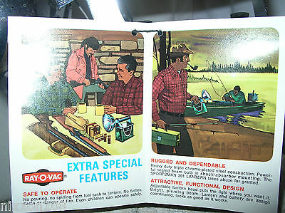 Vintage NOS Ray O Vac Advertising Flashlight Battery And Bulb Tester New in Box