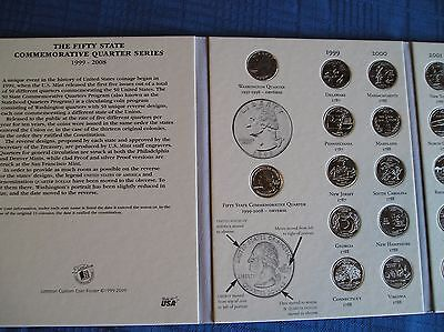 50 State Quarters Album with Territories Coin Collecting! Binder, Folder, Book! 6
